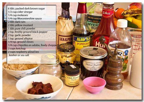 Bb sauce ingred